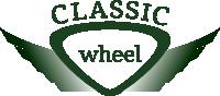 Classic wheel Enjoliveurs noirs / verts / rouges / argents / blancs etc