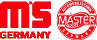 Platus MASTER-SPORT Vairo trauklės (valdymo svirtis, išilginis balansyras, diago pasirinkimas pas jūsų pardavėją