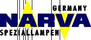Original NARVA Kennzeichenleuchten Glühlampe VW