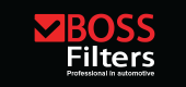 Náhradní díly a automobilové produkty značky BOSS FILTERS