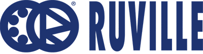 Galet tendeur de la courroie RUVILLE d'origine