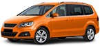 JP GROUP Backspegel SEAT ALHAMBRA