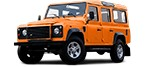 LAND ROVER Shocks for replacement on 110/127