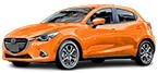 MAZDA 2 replace Brake Discs - manuals online free