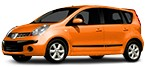 NISSAN NOTE Candela di accensione
