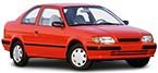 Acquisire poco costoso TOYOTA TERCEL ricambi auto