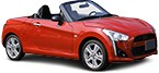 Purchase low-cost DAIHATSU COPEN auto parts