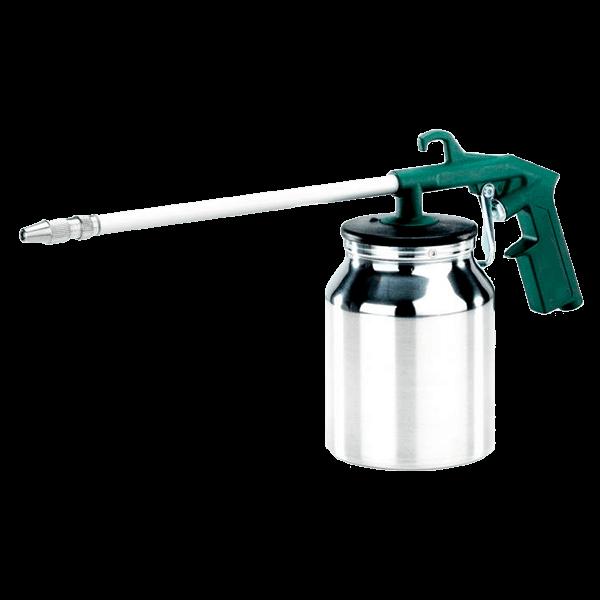 Sprøjtepistol, trykflaske