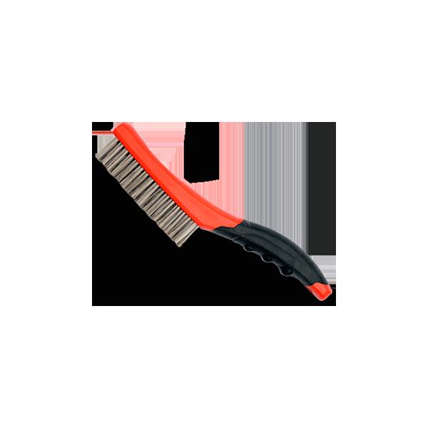 Cepillo de alambre, limpieza pinza de freno