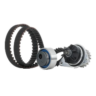 AKS DASIS 570255N : Pompe à eau + kits de courroies moteur pour Twingo c06 1.2 2003 58 CH à un prix avantageux