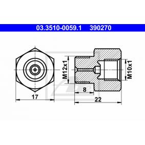 LKW Adapter, Bremsleitung