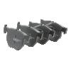 JQ101320 KAMOKA exkl. Verschleißwarnkontakt, nicht für Verschleißwarnanzeiger vorbereitet, mit Bremssattelschrauben, mit Zubehör Höhe: 52mm, Breite: 116mm, Dicke/Stärke: 17,1mm Bremsbelagsatz, Scheibenbremse JQ101320 günstig kaufen