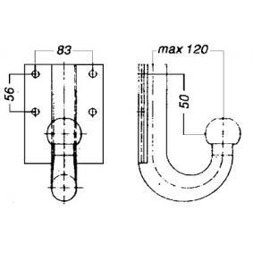 Enganche para FIAT Ducato II Camión de plataforma/Chasis