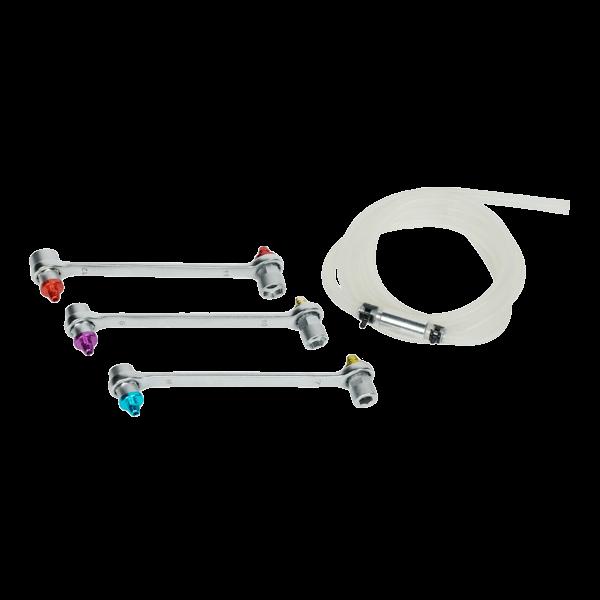 Llave de cubo, válvula, tornillo purga aire
