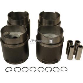 Reperationssæt, stempel / cylinder-foring til lastbiler