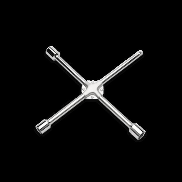 Llave de cruz para rueda de cuatro vías