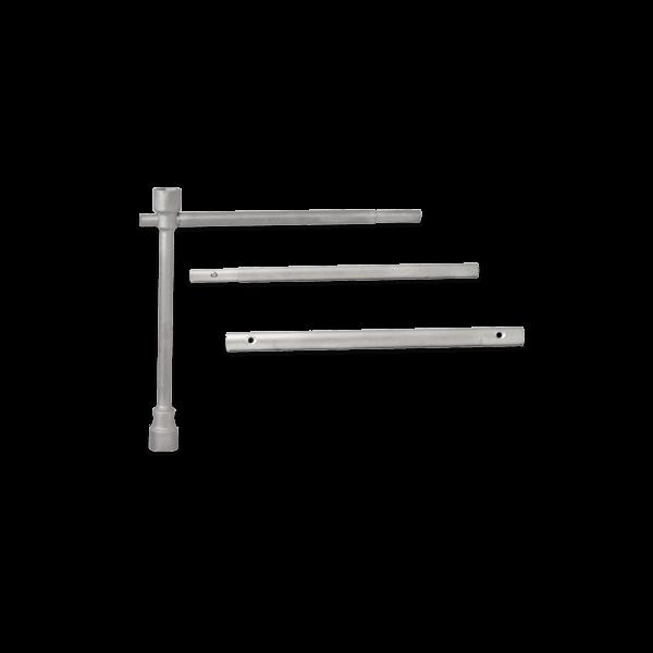 Conjunto de llave de cruz para ruedas