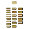 Tryck-/stödhylssats, in-/urpressningsverktygssats