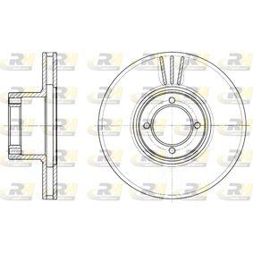 DSX600910 ROADHOUSE Vorderachse, belüftet Ø: 213mm, Lochanzahl: 4, Bremsscheibendicke: 20,5mm Bremsscheibe 6009.10 günstig kaufen