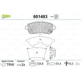 HELLA PAGID 8DB 355 014-001 Kit pastiglie freno Assale anteriore Freno a disco