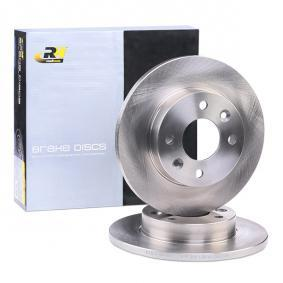 DSX606700 ROADHOUSE Vorderachse, Voll Ø: 238mm, Lochanzahl: 4, Bremsscheibendicke: 12mm Bremsscheibe 6067.00 günstig kaufen