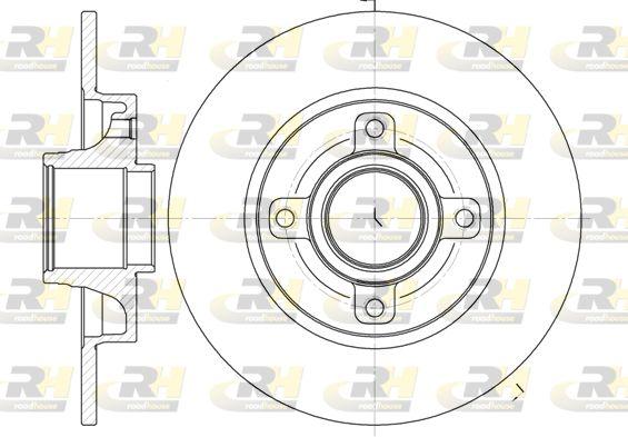 Stabdžių diskas 61014.00 ROADHOUSE — tik naujos dalys