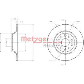 Kupi 6110747 METZGER CST191 Poln, prevlecen (premaz), s kompletom varnostnih vijakov Ø: 300mm, Debelina zavornega diska: 12mm Zavorni kolut 6110747 poceni