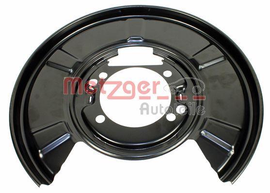 Splash Panel, brake disc METZGER 6115091 Reviews