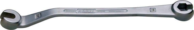 612N-11 HAZET Länge: 177,7mm, SW: 11 mm, verchromt, Chrom-Vanadium-Stahl Bremsleitungs-Schlüssel 612N-11 günstig kaufen
