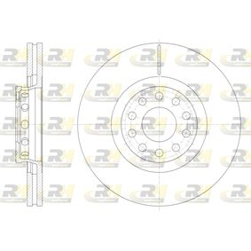 DSX6136210 ROADHOUSE Vorderachse, belüftet Ø: 320,7mm, Lochanzahl: 10, Bremsscheibendicke: 30mm Bremsscheibe 61362.10 günstig kaufen