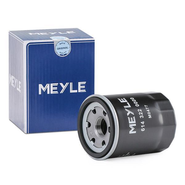 6143220000 Motorölfilter MEYLE 614 322 0000 - Große Auswahl - stark reduziert