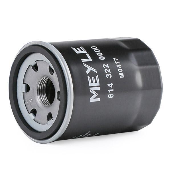 614 322 0000 Motorölfilter MEYLE in Original Qualität