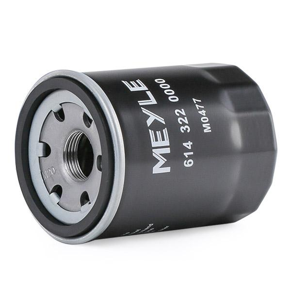 6143220000 Oil Filter MEYLE - Experience and discount prices