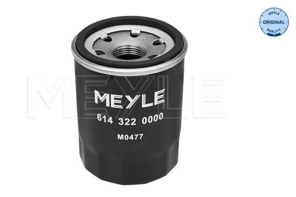 614 322 0000 Ölfilter MEYLE Test