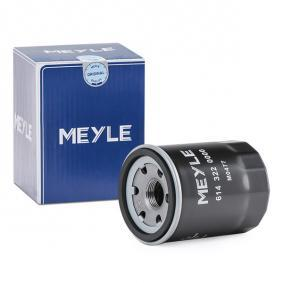 MOF0178 MEYLE Anschraubfilter, mit einem Rücklaufsperrventil, MEYLE-ORIGINAL Quality Ø: 65,5mm, Höhe: 85,6mm Ölfilter 614 322 0000 günstig kaufen