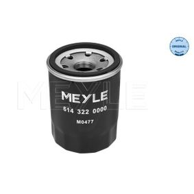 614 322 0000 Ölfilter MEYLE in Original Qualität