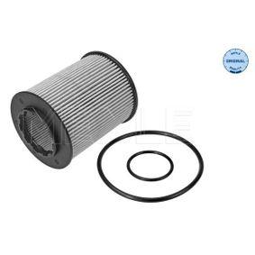 MOF0180 MEYLE mit Dichtung, Filtereinsatz, ORIGINAL Quality Innendurchmesser: 30,5mm, Ø: 62mm, Höhe: 79,5mm Ölfilter 614 322 0003 günstig kaufen