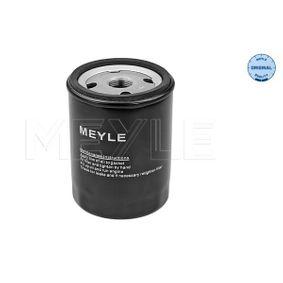 MOF0182 MEYLE Anschraubfilter, ORIGINAL Quality Ø: 76mm, Höhe: 102,6mm Ölfilter 614 322 0005 günstig kaufen