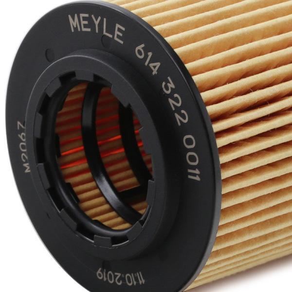 614 322 0011 Alyvos filtras MEYLE - Pigus kokybiški produktai