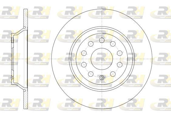 VW Disque de frein d'Origine 61587.00