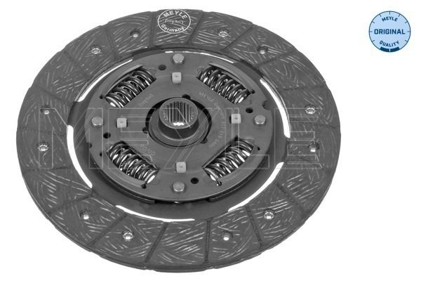 Clutch disc 617 215 2400 MEYLE — only new parts