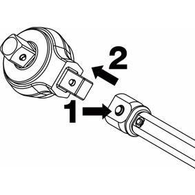 64134 Проходна квадратна предавка, динамометричен ключ HAZET 6413-4 - Голям избор — голямо намалание