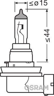 Reservdelar TOYOTA VERSO 2009: Glödlampa, dimljus OSRAM 64219CBI till rabatterat pris — köp nu!