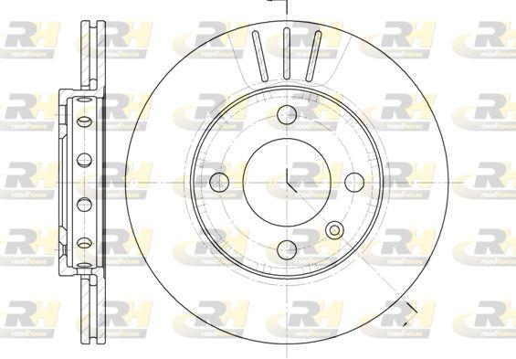 VW Disques de frein d'Origine 6426.10