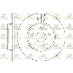 DSX660710 ROADHOUSE Vorderachse, belüftet Ø: 300mm, Lochanzahl: 5, Bremsscheibendicke: 24mm Bremsscheibe 6607.10 günstig kaufen