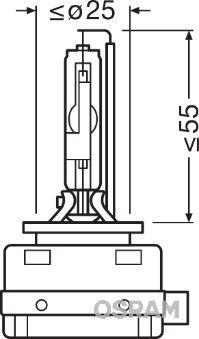 66150 OSRAM Glühlampe, Fernscheinwerfer für MAN online bestellen
