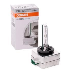 OSRAM XENARC CLASSIC 35W, D3S (gasurladdningslampa), 42V Glödlampa, fjärrstrålkastare 66340CLC köp lågt pris