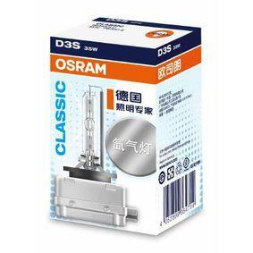 66340CLC Glödlampa, fjärrstrålkastare OSRAM Test