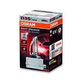 66340XNB Glödlampa, fjärrstrålkastare OSRAM - Billiga märkesvaror