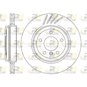 DSX664510 ROADHOUSE Hinterachse, belüftet Ø: 319mm, Lochanzahl: 5, Bremsscheibendicke: 22mm Bremsscheibe 6645.10 günstig kaufen